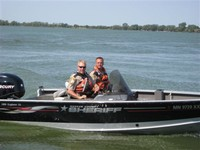 Boat and Water Officers Dale and Bondhus