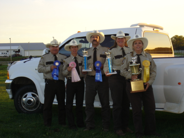 Members of the Sheriffs Office Mounted Posse