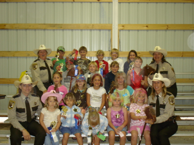 Working with Youth at the 2007 Meeker County Fair